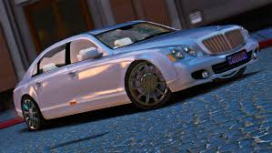bentley maybach 2009 maybach 62 s add on gta5 mods com
