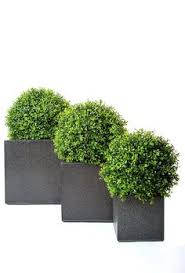 Topiary Balls With Flowers - how to fill an outdoor planter with artificial flowers