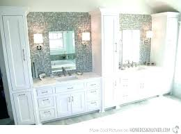 bathroom vanity with side cabinet bathroom vanity with tall cabinet tall bathroom glass doors bathroom