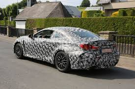 lexus is coupe lexus cars news 2015 rc f is f coupe spied first time