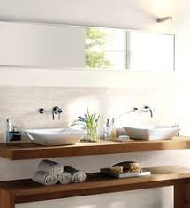 Wood Bathroom Vanity by Lovely Powder Room Features Reclaimed Wood Mirror Over Floating