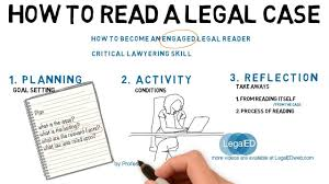 how to read a legal case youtube
