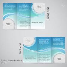 free three fold brochure template tri fold brochure design brochure template design with blue