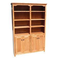 Bookcases With Doors On Bottom Oak Design Shaker Bookcases Stewart Roth Furniture