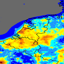 belgium and netherlands map light pollution map of the netherlands belgium and luxembourg the
