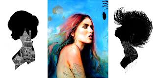 charmaine olivia u0027s paintings depict women unapologetic and confident