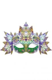 mardi gras mask and gaia mardi gras mask white purecostumes
