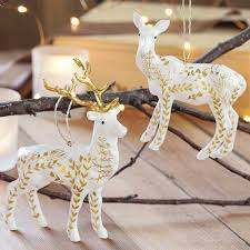 reindeer ornaments edelweiss reindeer ornaments all gifts olive cocoa