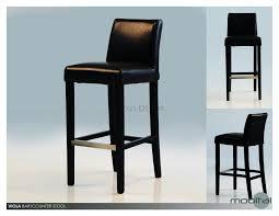 Enchanting Ikea Bar Stools High by Furniture Ingolf Bar Stool With Backrest Brown Black Parisian