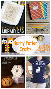harry potter crafts the crafting