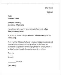 sample resignation acceptance letter 6 examples in pdf