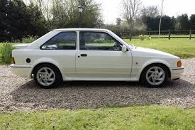 used 1987 ford escort rs turbo 3dr for sale in west sussex
