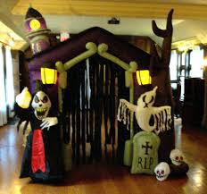 Inflatable Halloween Haunted House 6ft Airblown Inflatable Haunted House Halloween Yard Decor Prop