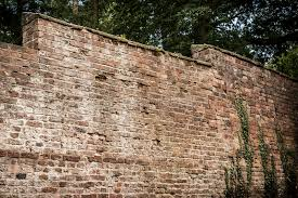 old garden wall stock photo image of tall garden walled 32924722