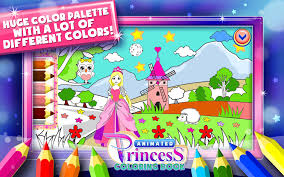 princess coloring book games android apps google play