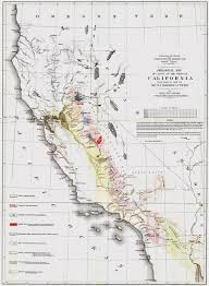Map Of The State Of Kansas by Cgs History Geologic Maps Of California