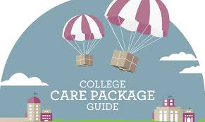 College Care Package College Care Package Guide Infographic Visualistan