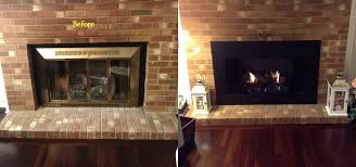 custom glass fireplace doors raleigh nc mr smokestack chimney service