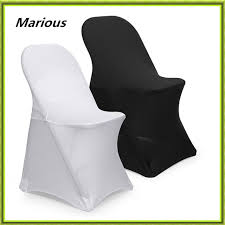 spandex folding chair covers aliexpress buy marious spandex folding chair cover white and