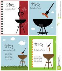 bbq party invitation royalty free stock photography image 24092887