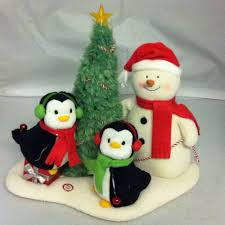 hallmark merry trio jingle pals penguin snowman