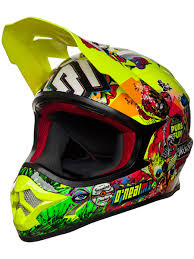 motocross helmet stickers oneal neon yellow 2018 3series crank mx helmet oneal