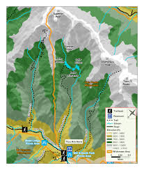 Salt Lake City Map Public Utilities Trail Information Salt Lake City The Official