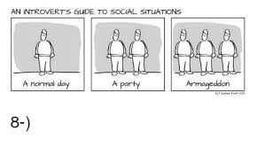 Introvert Meme - an introvert s guide to social situations a normal day armageddon a