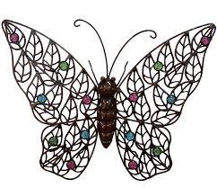 amazing butterfly garden wall art hand painted butterflies