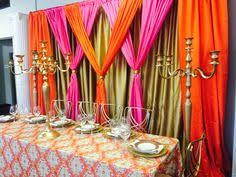 Pipe And Drape Rental Seattle Lounge Furniture Led Cubes Pipe And Drape And Fuschia Uplighting