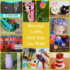 twelve recycled craft projects for kids morena u0027s corner