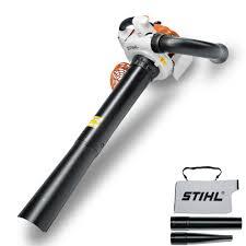 Blower Vaccum Stihl Sh86c E Leaf Blower Vacuum World Of Power