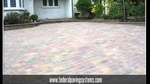 Brock Paver Base Installation by Interlocking Paver Stone Installation Federal Paving Systems 800