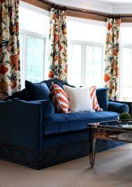 blue and orange decor navy and orange living room coma frique studio 235535d1776b