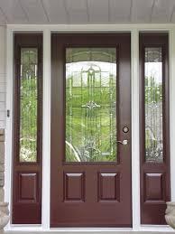 Exterior Door Inserts Charming Exterior Door Glass Inserts Home Depot Gallery Ideas