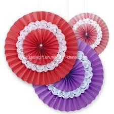 wedding paper fans china wedding paper rosettes tissue paper fans hanging tissue