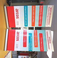 table banners and signs displays trade show next day signs