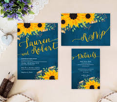 sunflower wedding sunflower wedding invitations sunflower wedding
