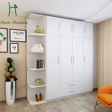 chambre de garde louis de mode simple moderne économie chambre garde robe en bois