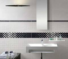 Mosaic Border Bathroom Tiles Mosaic Tile Borders With Black And White Also Gray And White