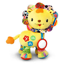 amazon com vtech baby crinkle and roar lion toys u0026 games