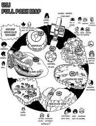 map usj 2 image usj park map jpg boku no academia wiki
