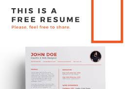 Infographic Resume Template Free Infographic Resume Template Free Design Resources