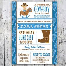 cowboy baby shower ideas popular western baby shower invitations as prepossessing ideas