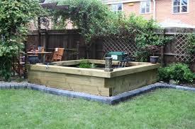 Backyard Raised Garden Ideas Triyae Com U003d Backyard Raised Pond Ideas Various Design