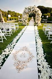 aisle runners gorgeous wedding ceremonies floral arch aisle runners and runners