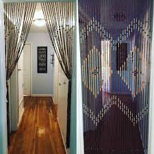 timber portsea furnishings timber wooden beaded door curtains