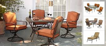 Martha Stewart Living Patio Furniture The Mallorca Collection U0027s 7 Piece Dining Set From Martha Stewart