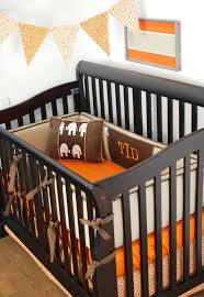 Orange Crib Bedding Sets Orange Crib Bedding Set