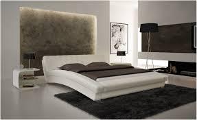 King Bedroom Set Plans Bedroom Modern Black Platform Bed With Led Lighting King
